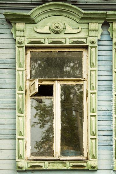 Деревянный наличник из Мурома Владимирской области