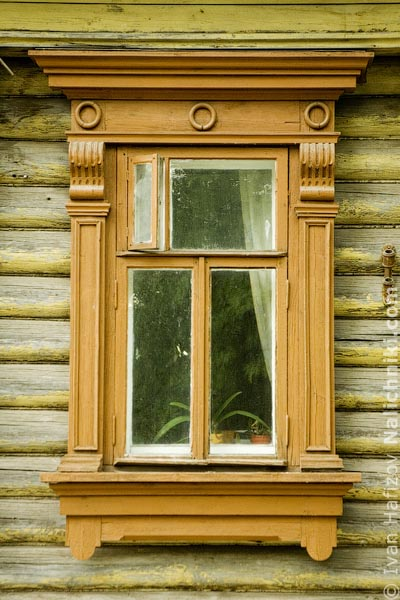 Деревянный резной наличник Ростова Великого