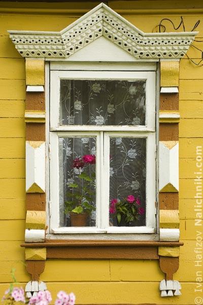 Резной деревянный наличник Мышкина Ярославкой области