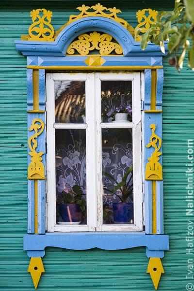 Костромской наличник на окна