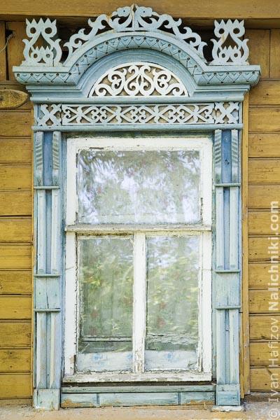 Костромской оконный наличник