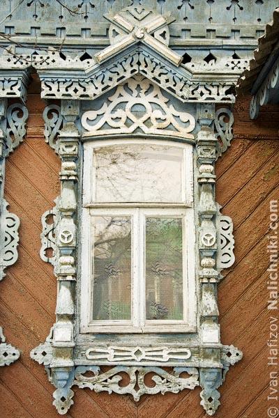 Рязанский традиционный деревянный наличник