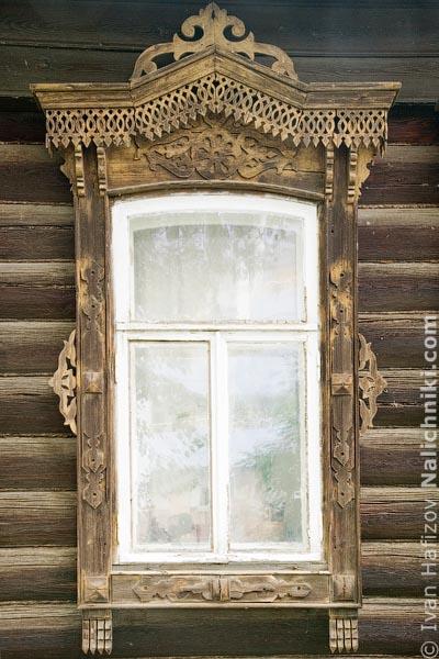 Традиционные наличники Екатеринбурга Свердловской области
