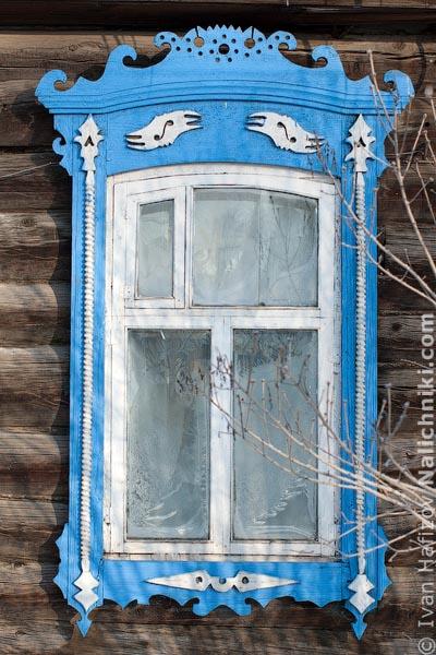 Старинные наличники Алапаевска Свердловской области