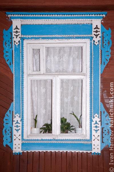 Традиционный Чувашский оконный наличник из Чебоксар