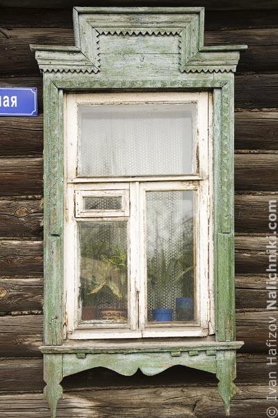 Владимирский традиционный деревянный наличник