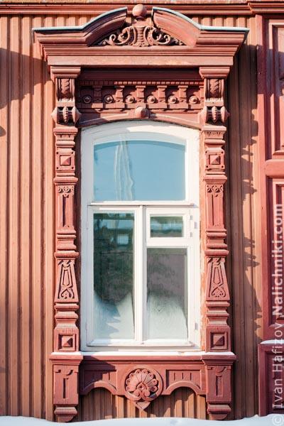 Тюменский деревянный наличник