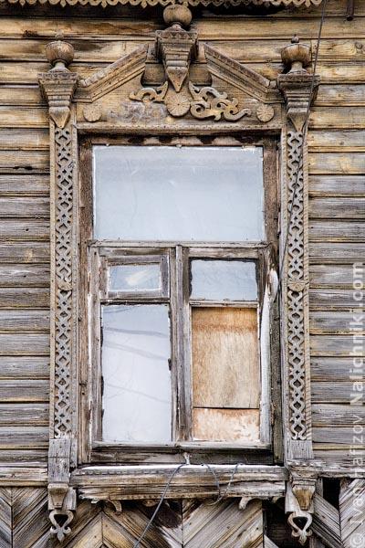 Тульский традиционный деревянный наличник