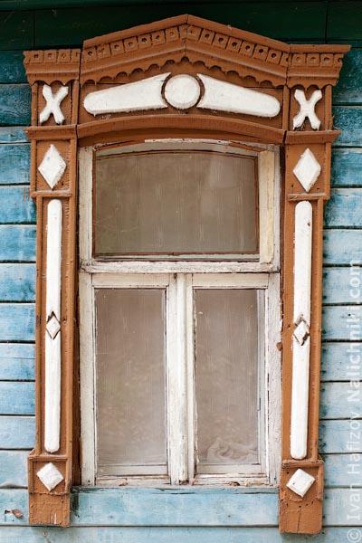 Воронежский деревянный наличник