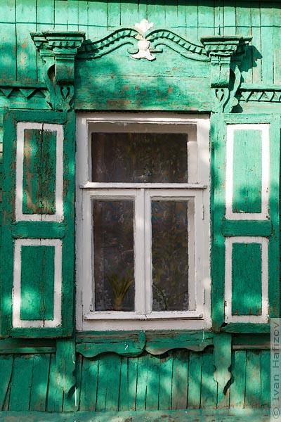 Деревянный оконный наличник города Балашов