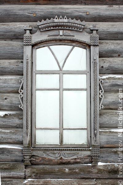 Нижнесинячихинские деревянные наличники