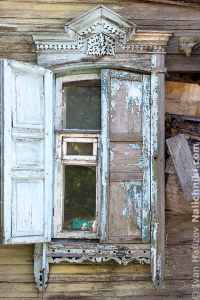 Омские деревянные наличники