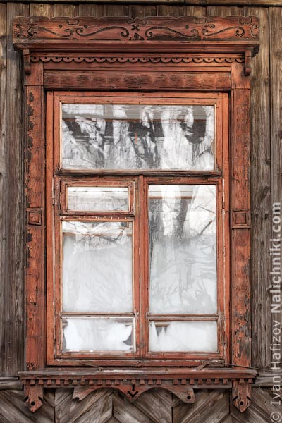 Пермские деревянные наличники