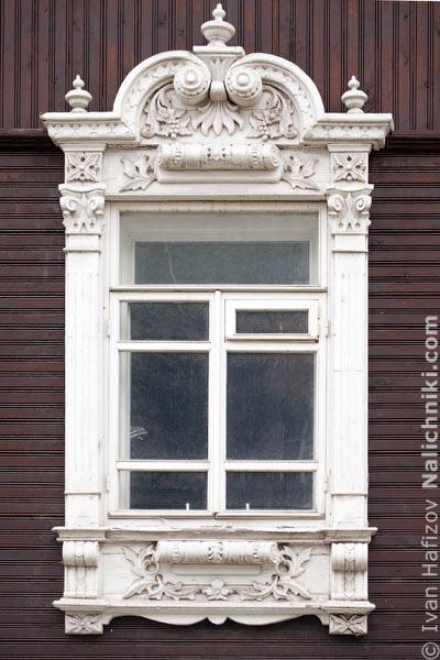 Новосибирский оконный наличник