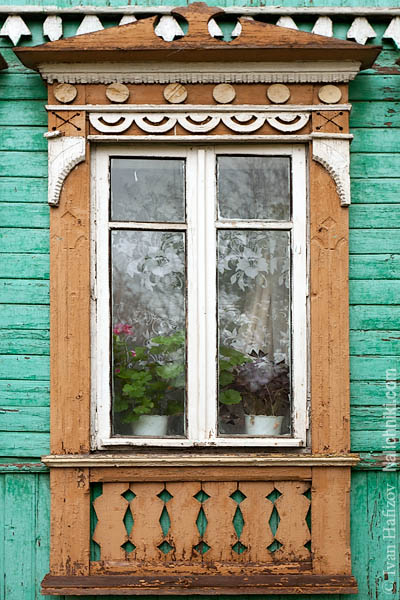 Цветной наличник из Иванова