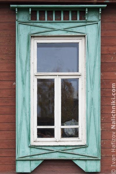 Традиционные русские дома. Наличники на окнах Юрьевца