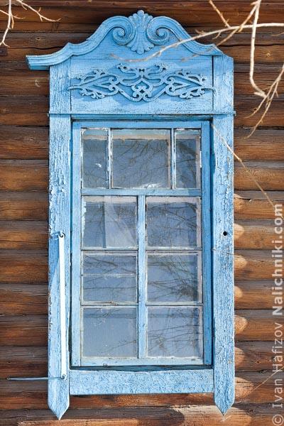 Деревянный оконный наличник из Забайкальского Нерчинска!