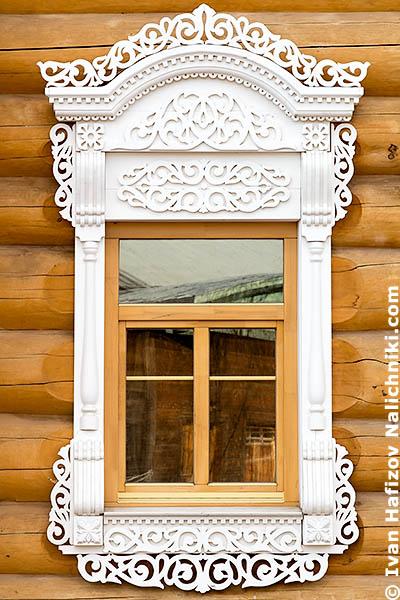 Деревянный оконный наличник из легендарной Вологды!